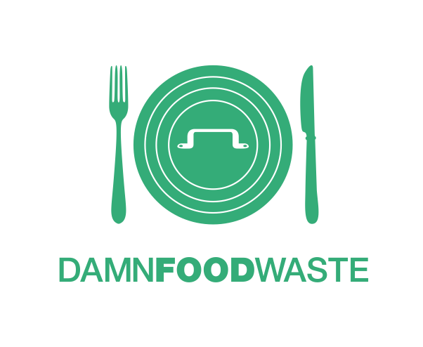 Damn Food Waste logo